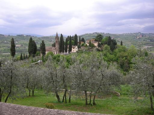 Una location intima ed elegante appena fuori Firenze